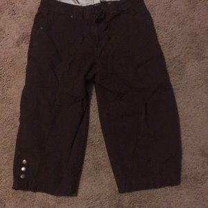 "Women's Size 10 ""Kim Rogers"" Brown Casual Pants"